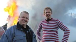 Rune Nilson & Per Olav Alvestad. Foto: NRK.